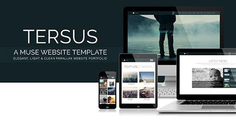 tersus business portfolio parallax muse template