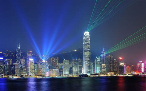 Hong Kong Light Show by The Day In Hong Kong Travel Leisure