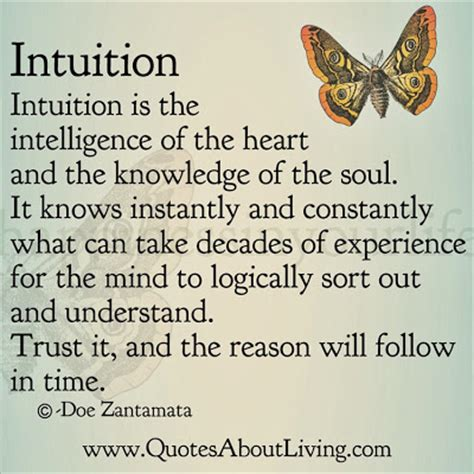 gut intelligence the wisdom to the the guts to do something about it books quotes about living doe zantamata intuition