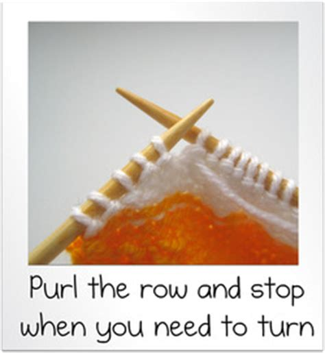 how to turn in knitting row how to wrap and turn and knit rows amanda berry