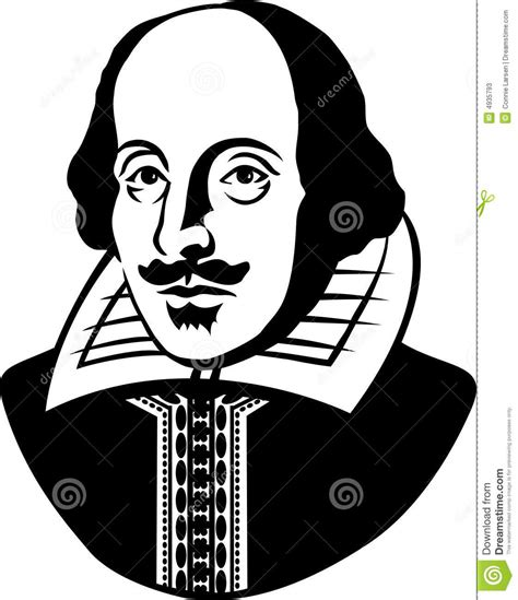 william shakespeare eps editorial stock photo image 4935793
