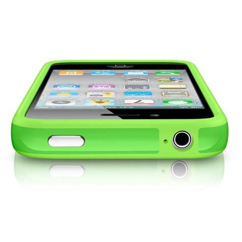 Bumper Iphone 4 Bumper Iphone 4 4s bumper vert pour iphone 4 4s sosav fr