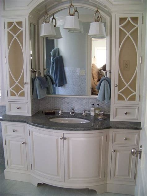 Bow Front Vanity by Painted Bow Front Vanity By Les Hastings Lumberjocks