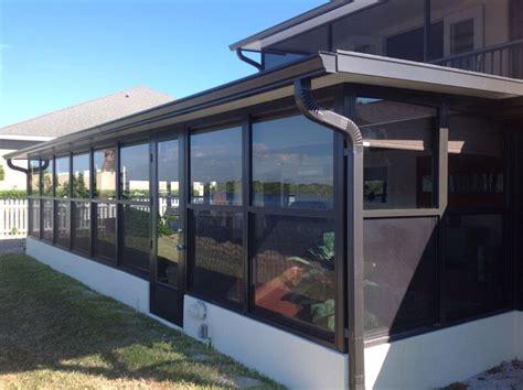 enclosing  patio   sunroom  florida room