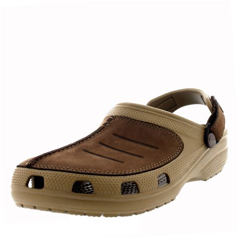 clogs sandals for mens crocs yukon mesa clog comfort leather summer