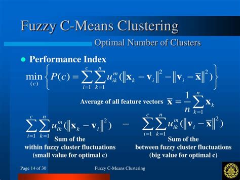 tutorial on fuzzy clustering powerpoint ppt fuzzy c means clustering powerpoint presentation