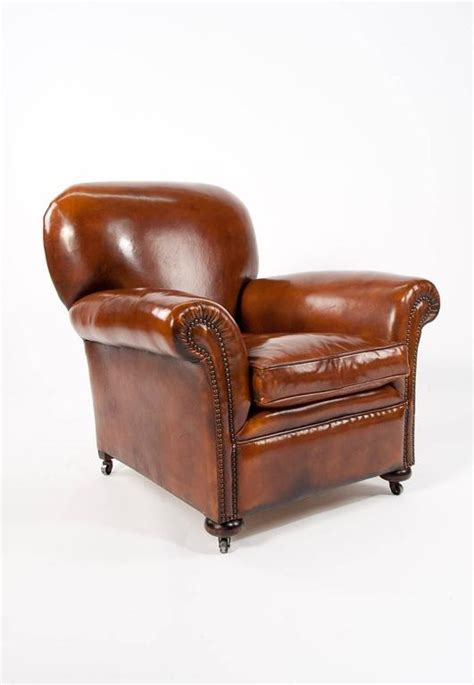 quality armchairs quality pair of antique leather club armchairs at 1stdibs