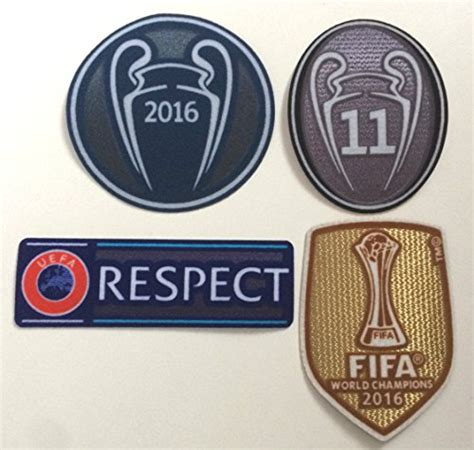 Logo Patch Woven Emblem Club Bola Real Madrid throwback soccer on marketplace sellerratings