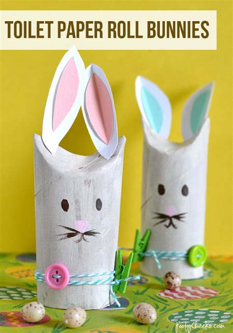 Toilet Paper Easter Bunny Craft - 5 fab easter crafts for and sew we craft