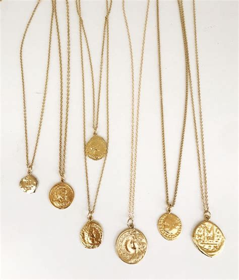 Coins Necklace best 25 gold coin necklace ideas on coin