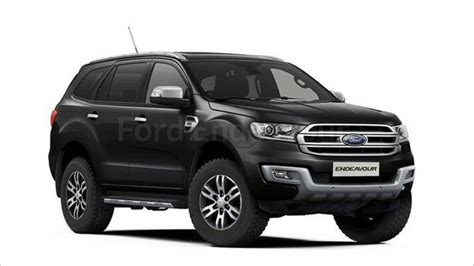 ford endeavour 2018 ford endeavour facelift suv 2018 launch on 2018