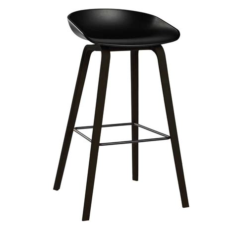 Hay About A Stool by Hay About A Stool Aas32 Black Base Barkruk The Shop