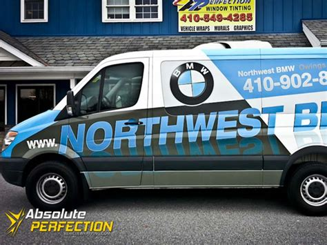bmw vans and trucks northwest bmw wrap owings mills