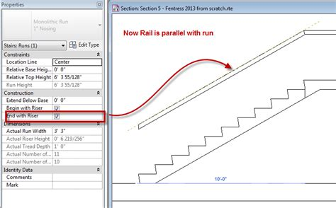 Landing Handrail Height 2013 Stair And Handrail Bd Mackey Consulting The Revit