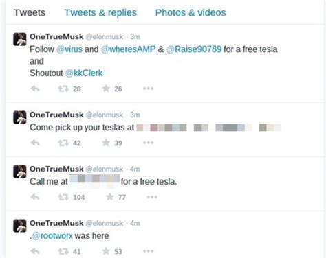elon musk email hackers hijack tesla s website twitter account and email