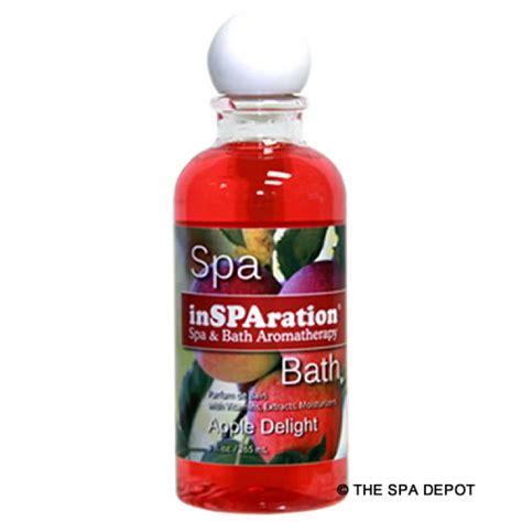 tub insparation 9 oz liquid aromatherapy apple