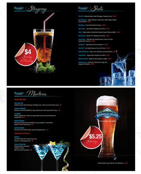 7 playful modern restaurant menu designs for a restaurant