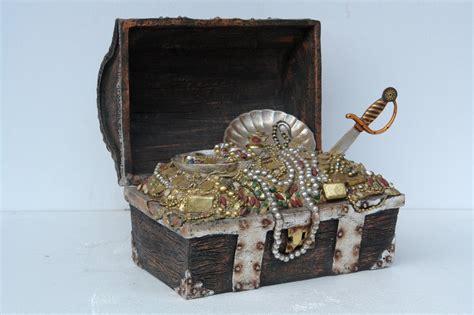 A Box Of Treasures by Pirate Treasure Box Size Replica