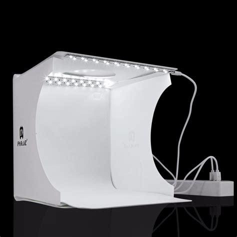 Studio Photo Studio Mini Dengan Lu Led puluz photo studio mini dengan lu 1 led white jakartanotebook
