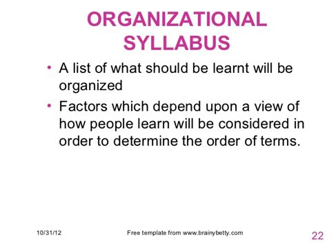 Organisational Behaviour Notes For Mba Ppt by Esp Ppt 3 Syllabus And Course Design In Esp