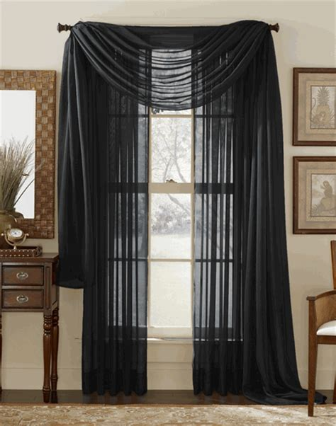 Sheer Elegance Curtains Sheer Elegance Curtain White Stylemaster Contemporary Modern Curtains