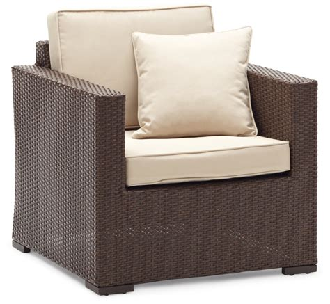 all weather wicker sofa strathwood griffen furniture all weather wicker chair