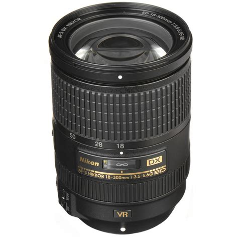 Nikon Dx Vr nikon af s dx nikkor 18 300mm f 3 5 5 6g ed vr lens 2196 b h