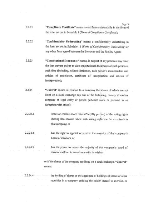 Undertaking Agreement Letter Graphic