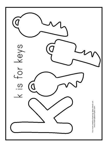 coloring page key chain coloring key coloring page key outline coloring page in