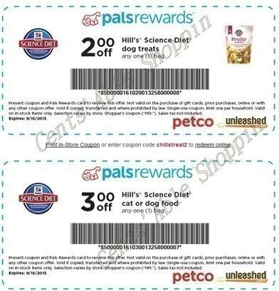 hills dog food printable coupons science diet coupons petco