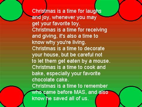 christmas rhyme quote 25 poems to wish