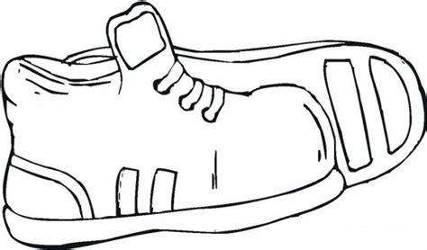 coloring pages of baby shoes kids shoe coloring page clipart best