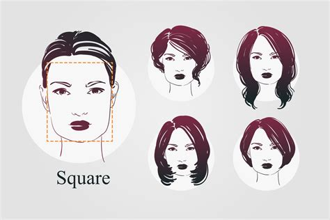 exles of face shapes 9 face shapes and best hairstyles for each