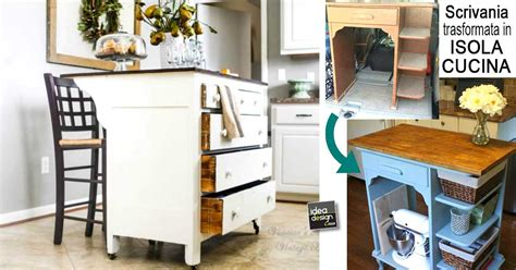 idee cucina fai da te isola cucina fai da te particolare 17 idee originali per