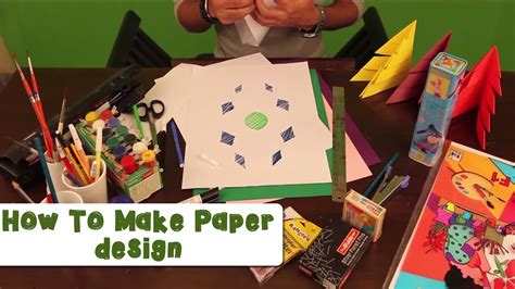 How To Make Bond Paper - how to make paper design