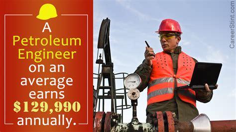 petroleum engineer salary