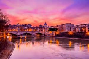 Landscaper Rome Ny The Landscape Of Rome With A Amazing Sunset Photo