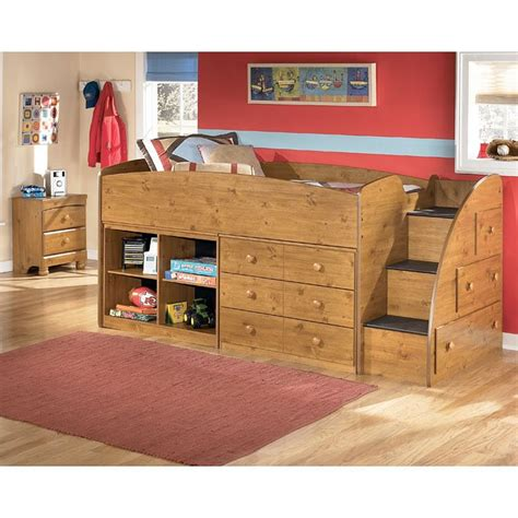 Stages Loft Bed by Stages Storage Loft Bedroom Set By Signature Design By