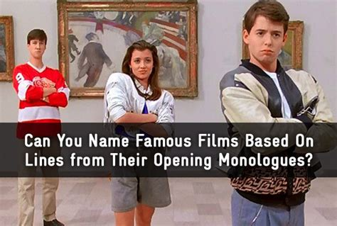 film based quiz can you name the famous film based on lines from the