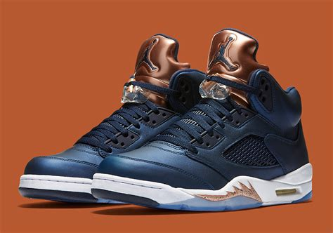 new sneaker releases today air 5 bronze 136027 416 release info sneakernews