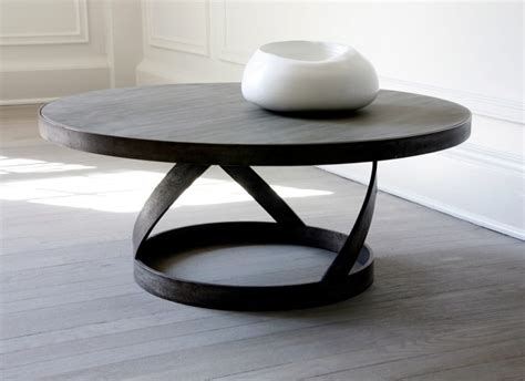 round gray coffee table mar silver design