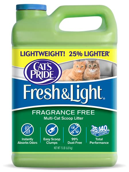 cat s pride fresh and light products archive cat s pride