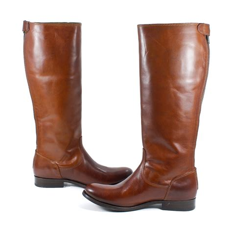 Sepatu Boots Bradleys Baldev Zipper Brown frye womens button back zip leather cognac brown boot 7 new ebay