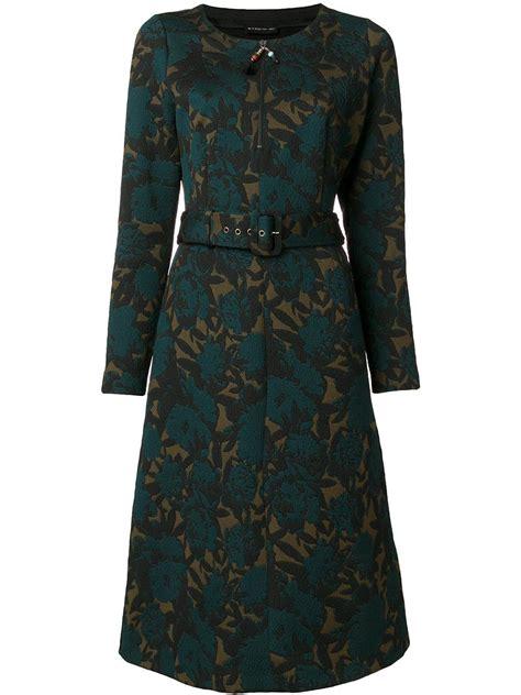 Jacquard Belt etro jacquard belt dress in green lyst