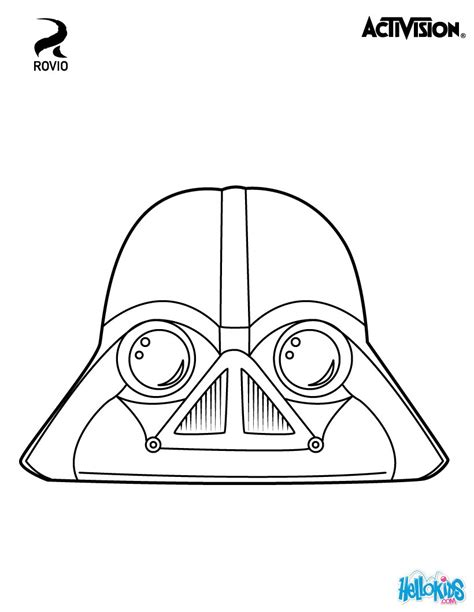 angry birds wars coloring pages vader coloring pages hellokids