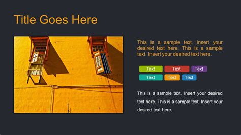Free Dark Slides Template For Powerpoint Slidemodel Slidemodel Free Templates