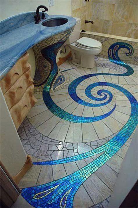 unique  amazing mosaic bathroom design home design