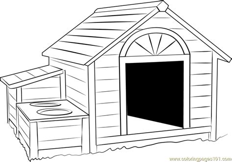 coloring sheet of a dog house 91 coloring pictures of dog houses man in doghouse