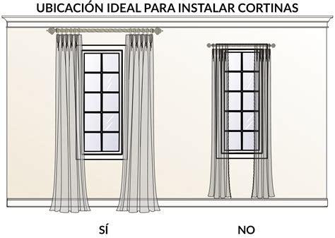 como colocar las cortinas 191 qu 233 cortinas usar en ventanas irregulares