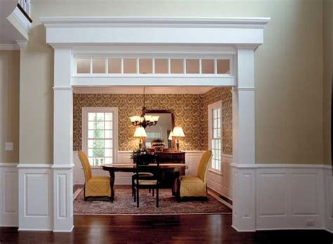 cased opening home remodeling house trim  homes